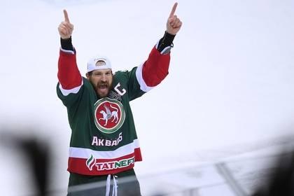 Хоккеист «Ак Барса» Александр Свитов