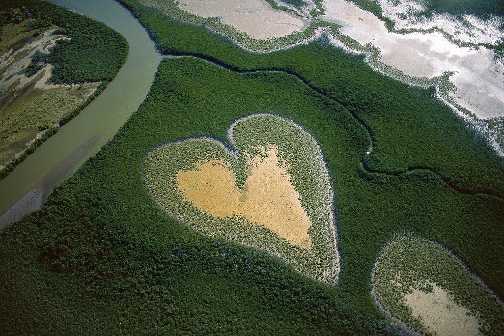 Земля необычное пейзажи природа
