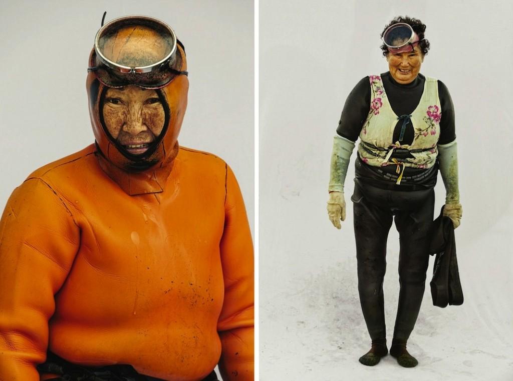 Хэнё — женщины моря. Фотограф Хёнг С. Ким (5 фото)