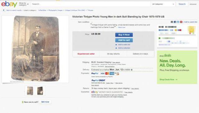 Британский коллекционер нашел редкое фото