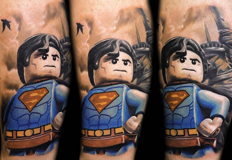 The Lego Minifig tattoos of Max Pniewski (13 pics)