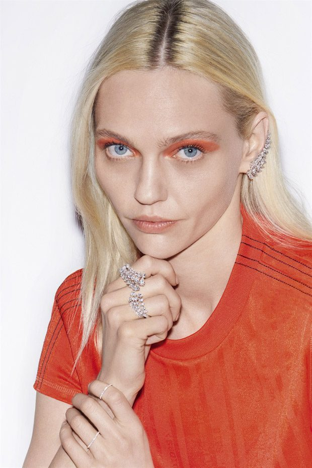 Sasha Pivovarova Models Messika SS18 High Jewelry Collection (8 pics)