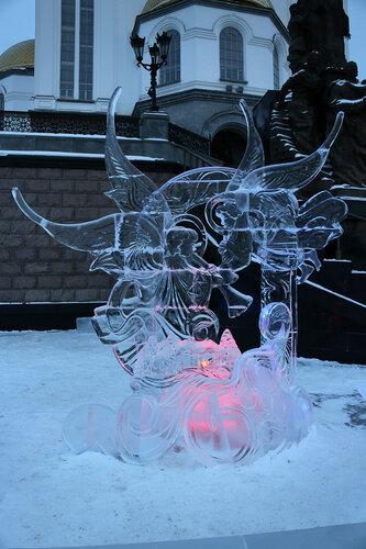 Крылатый дух Рождества