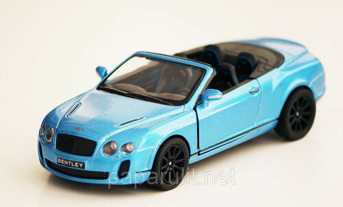 Kinsmart Bentley Continental Supersports Convertible