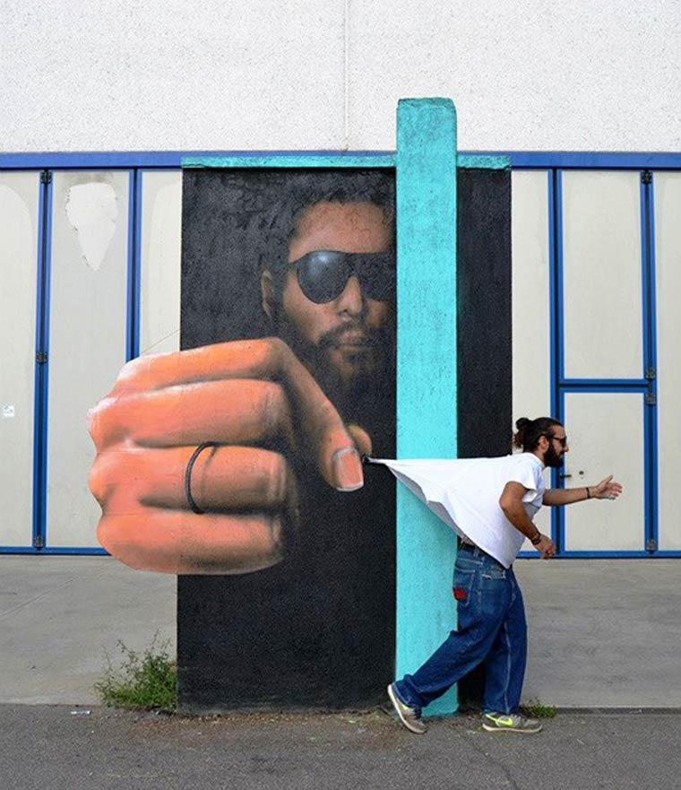 art unusual popular street art