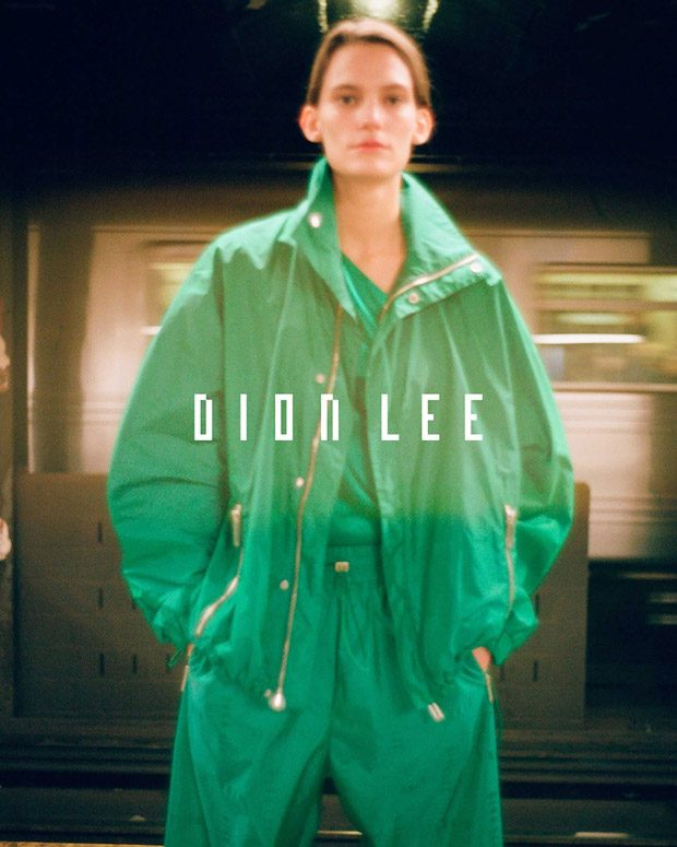 Lena Hardt Models Dion Lee Spring Summer 2018 Collection