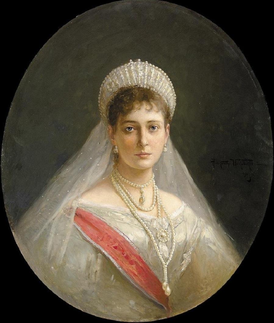 Portraits Alexandra Fedorovna, 1903.