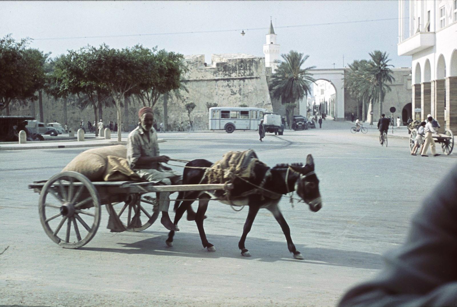 Триполи. Вид на городские ворота и стену