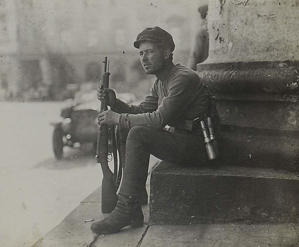 Новая власть. 1917