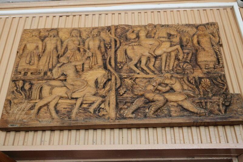 Картинная галлерея в селе Вороново