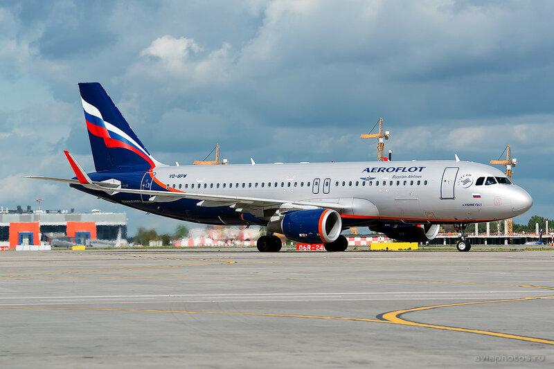 Airbus A320-214 (VQ-BPW) Аэрофлот 060_D807305