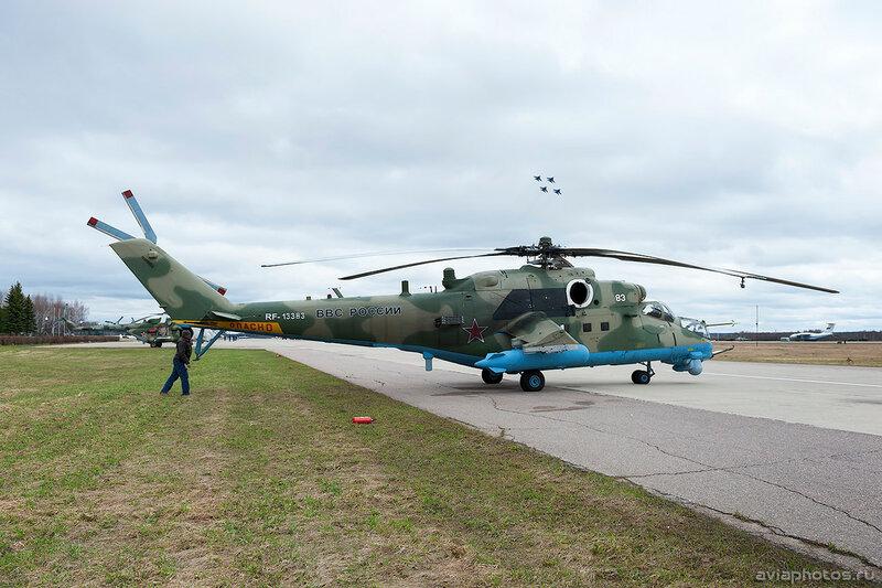 Миль Ми-35М (RF-13383 / 83 белый) ВКС России 248_D700679