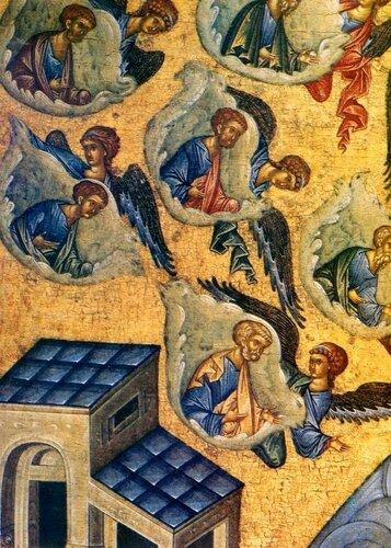 Успение Пресвятой Богородицы. Икона. Тверь, последняя четверть XV века.