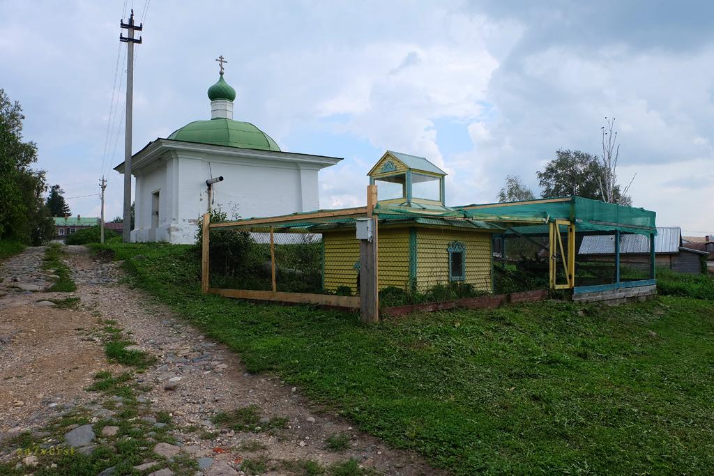 Горицкий Воскресенский монастырь в Вологодской области, огород