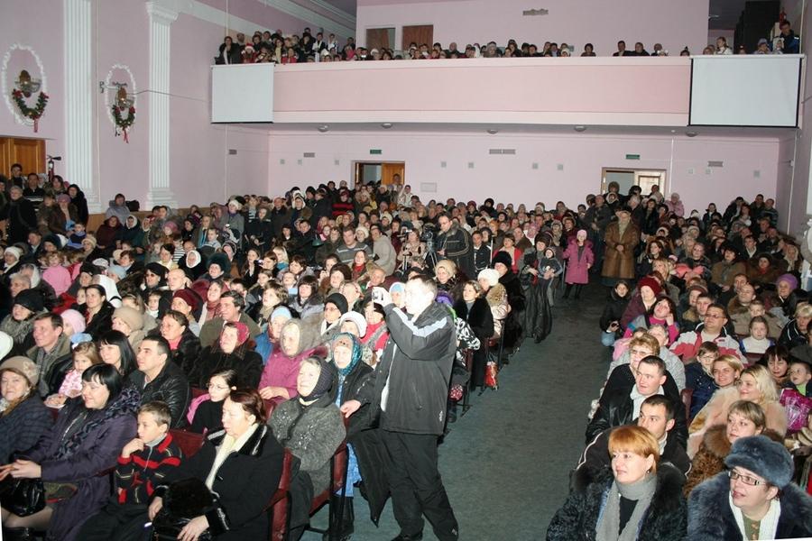 Рождественский концерт в Алчевске