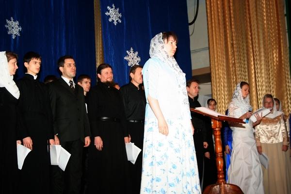Рождественский концерт в Алчевске 2011 год
