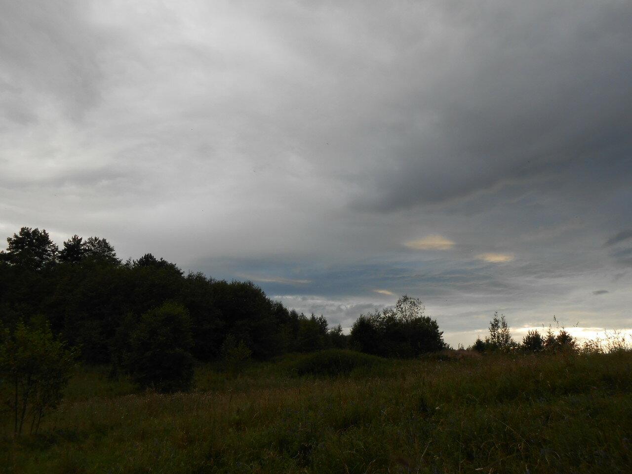 За околицей деревни Байнёво