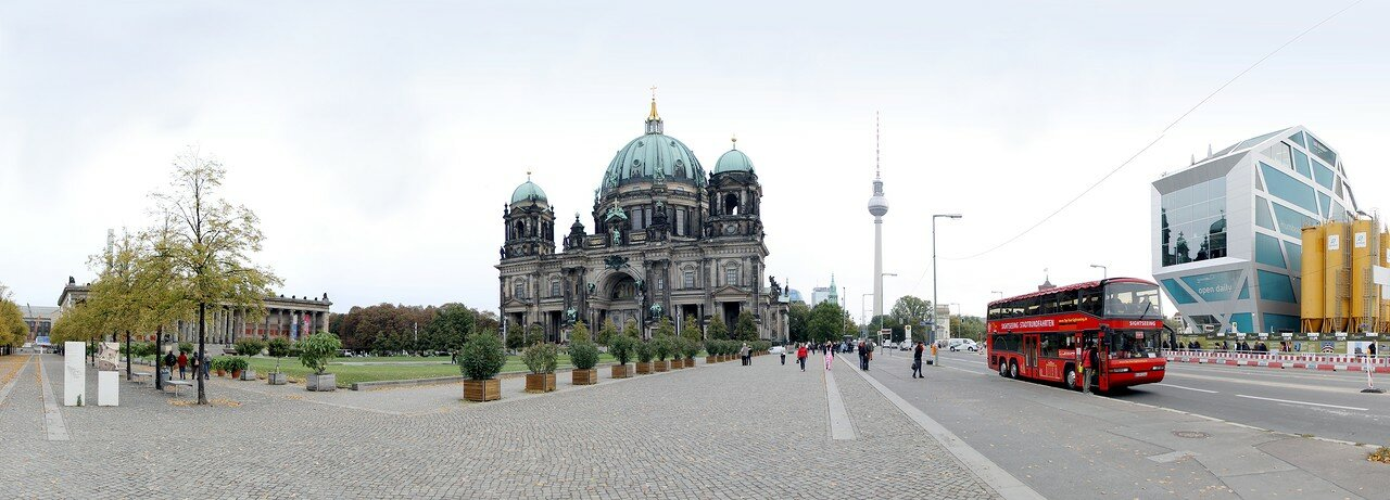 Berlin Cathedral. Panorama