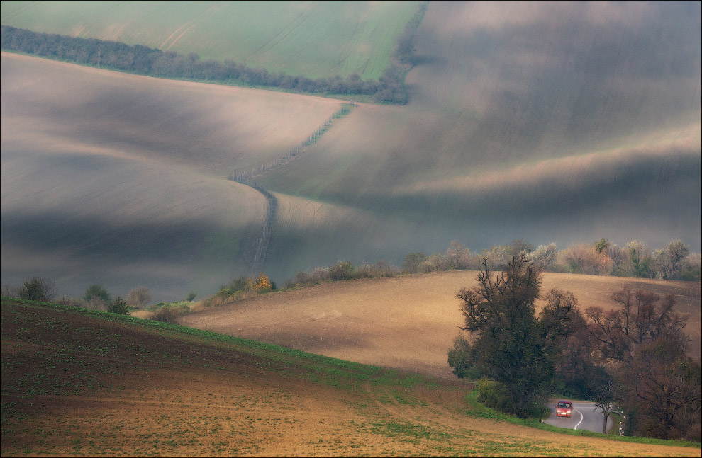 14. Чешская Тоскана. Некоторые места чем-то между собой схожи. С интересными рельефами, геометр
