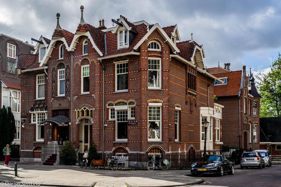 4. Ауд-Зейд выстроен вокруг парка Вондела, самого большого в Амстердаме. И квартал, и сам парк очень