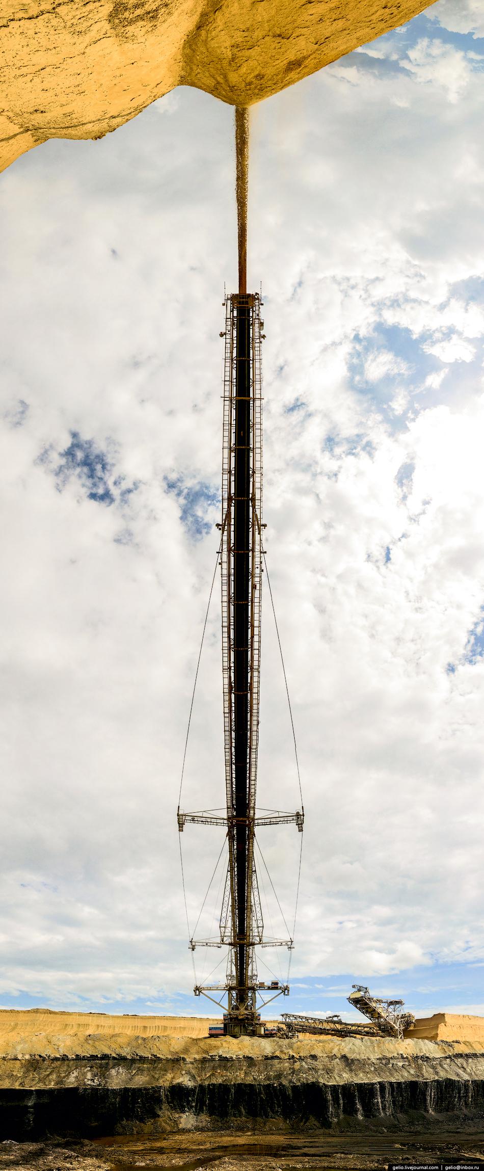 За время своей работы на предприятии SRs(K)-4000 переместил в отвалы более 150 млн тонн вскрышной по