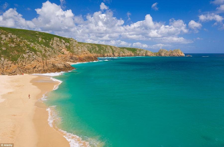 3. Это также один из британских пляжей.