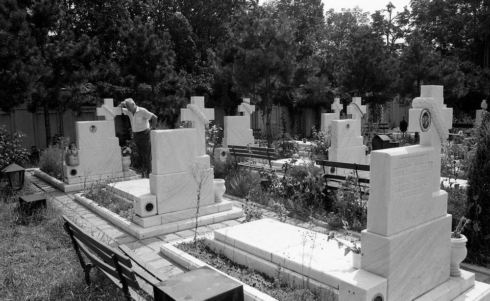 Кладбище, где похоронены герои революции. Большинство из них погибло в результате свержения социалис