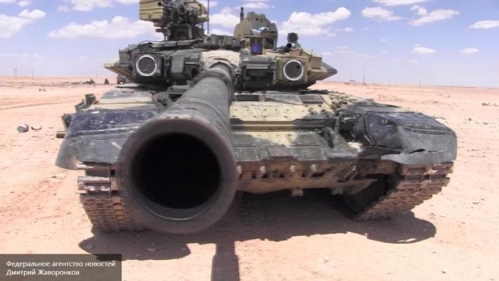 Российский Т-90 вошел впятерку сильнейших танков мира