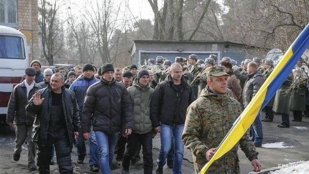 Вгосударстве Украина начался новый военный призыв
