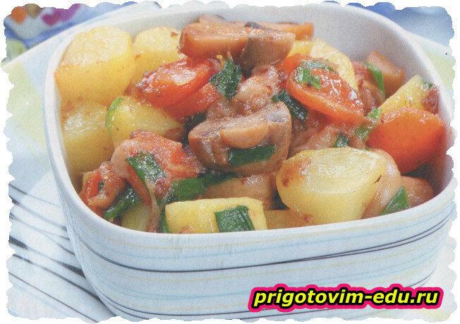Тушеная картошка «Традиционная»