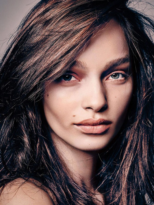 Top model Luma Grothe takes the cover story of Madame Figaro 's latest edition lensed by fashi