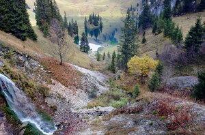 осень в горах, как одно волшебство