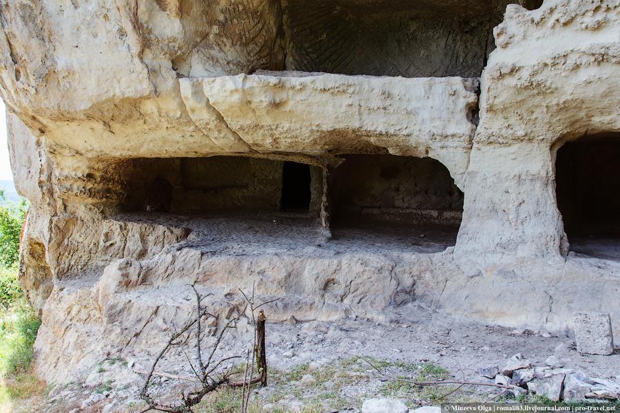 Пещеры Тепе-Кермен