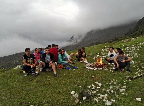 Летний отдых в горах