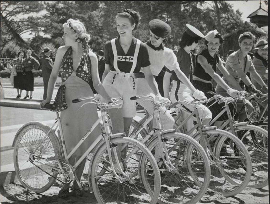 1936. День велоспорта в Булонском лесу