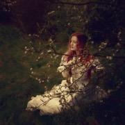 Девушка среди ветвей