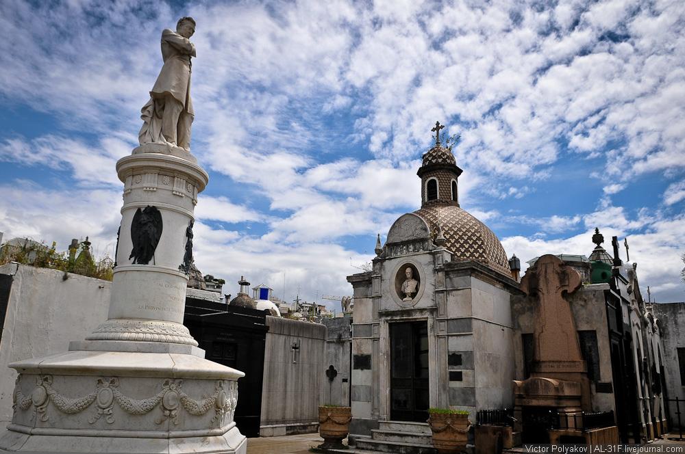 Буэнос-Айрес - Кладбище Реколета