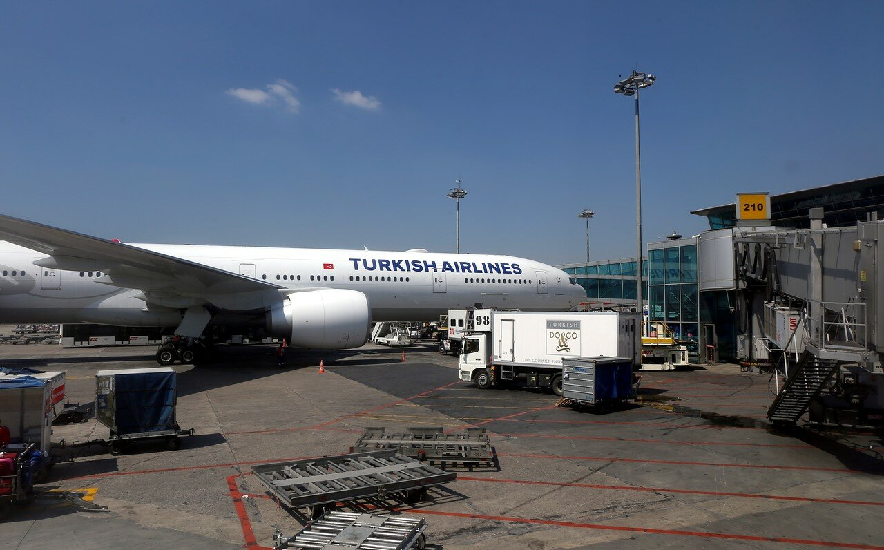 Istanbul. The Boeing 777
