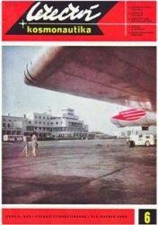 Книга Letectvi + Kosmonautika 1969-06