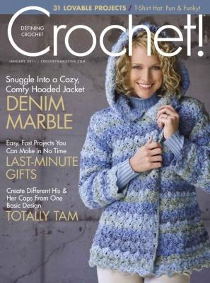 Журнал Журнал Crochet! - January 2011