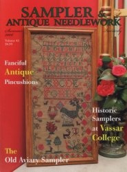 Журнал Sampler & Antique Needlework vol.43 2006