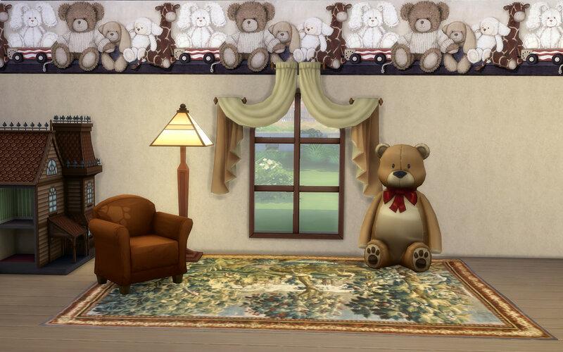 Teddy-bear Wall by ihelen