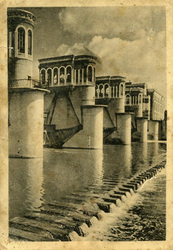 Канал Москва-Волга №3. Карамышевская плотина. Фото А.Шайхета. Изогиз, 1938, тир.10000 - 1.jpg