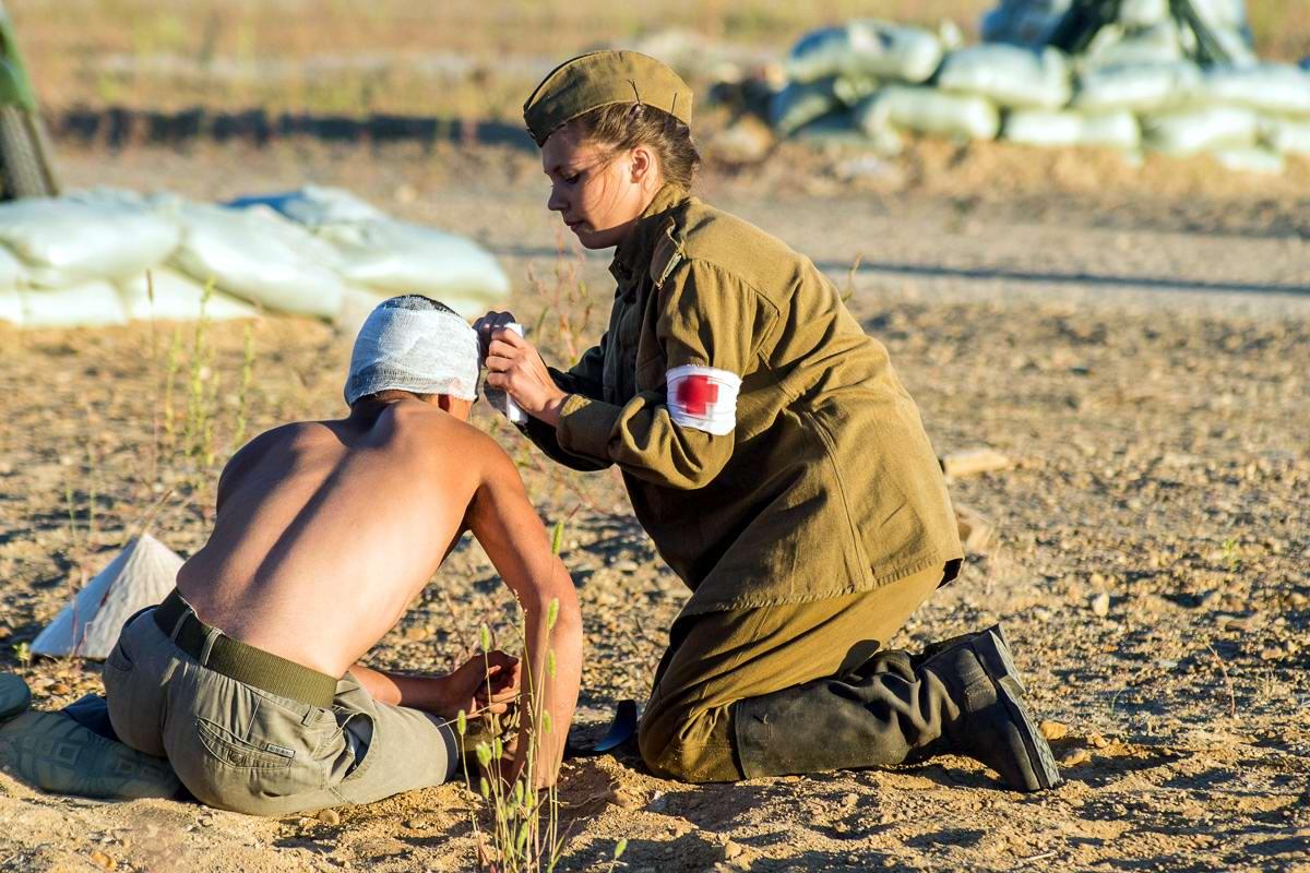 Разгром японцев на берегах Амура: Реконструкция событий времен 2-й мировой войны (25)