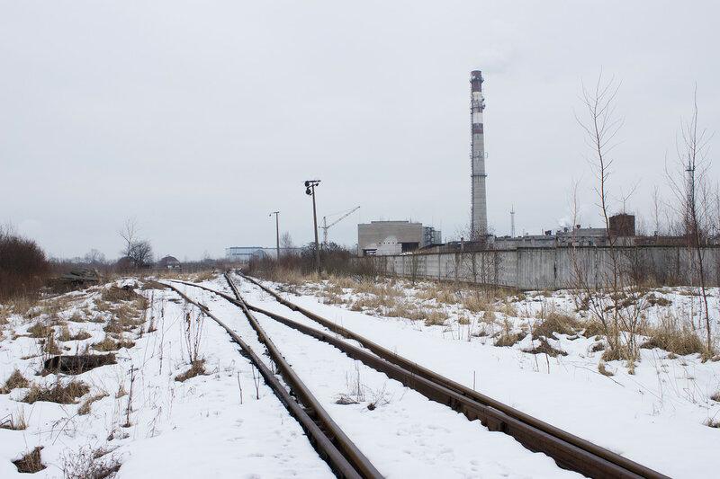 первый путь Императорской железной дороги у Александровского завода