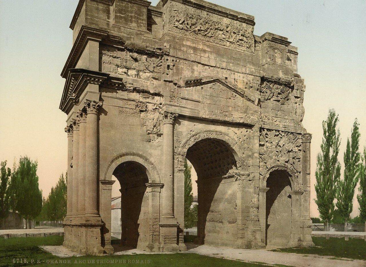 Триумфальная арка.  1897