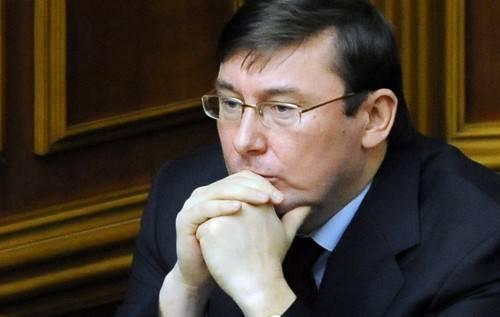 Генеральный прокурор Юрий Луценко и его экзистенциальный выбор