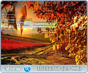 Windows 7 SP1 x86/x64 AIO 9in1 v.46.16 KottoSOFT (Осенние мотивы)