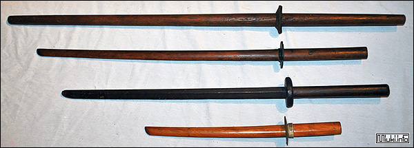 Боккэн - деревянный макет японского меча