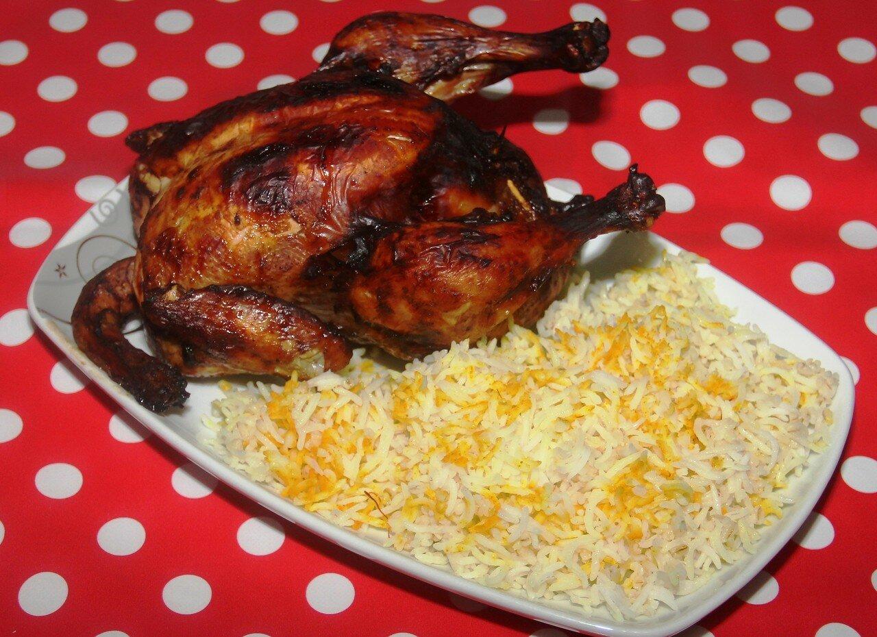 Плов азербайджанский с курицей рецепт с пошагово